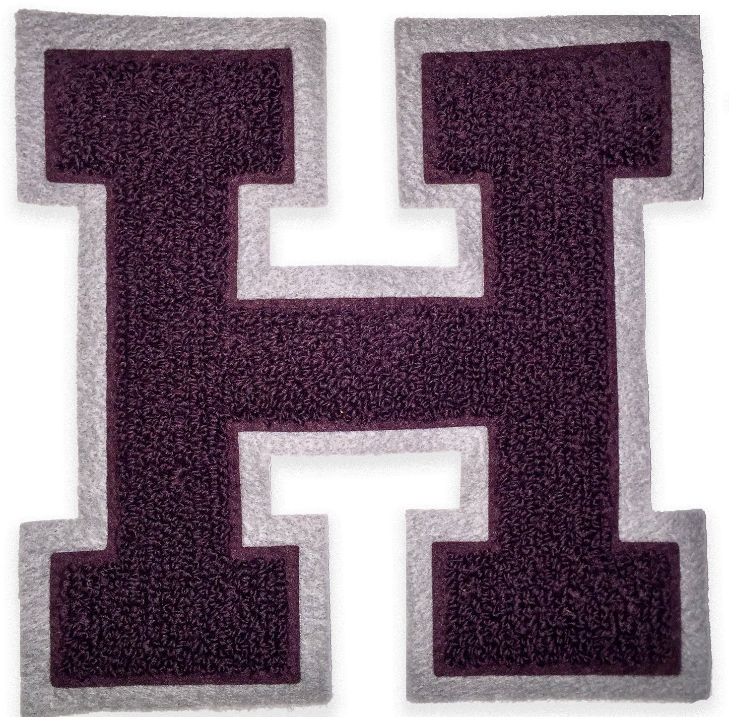 Amazon chenille varsity letterman jacket patch h capital letter amazon chenille varsity letterman jacket patch h capital letter premium quality embroidered arts crafts sewing thecheapjerseys Choice Image