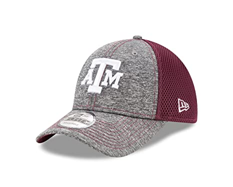 outlet store 54567 558c5 New Era NCAA Texas A M Aggies Adult Shadow Turn 9FORTY Adjustable Cap, One  Size,