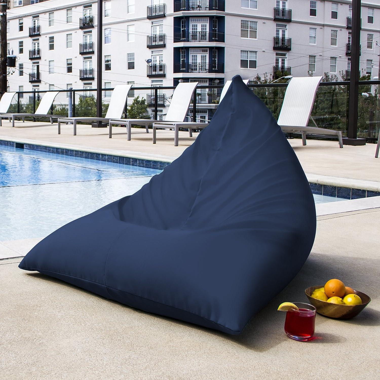 Jaxx Twist Outdoor bean bag chair, Navy