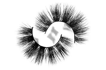 d3a26bb60d8 Amazon.com : Long Wispy Lashes Thick Dramatic Real 3D False Mink Eyelashes  Cruelty Free Reusable For Glamorous Make Up in style Andromeda : Beauty