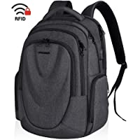 Kroser 17.3-Inch Molded Front Panel Large Computer Backpack