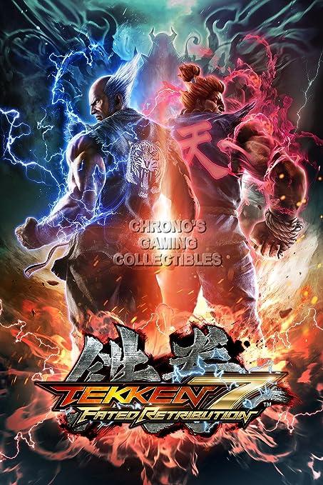 CGC Huge Poster - Tekken 7 PS4 XBOX ONE - EXT388 (16