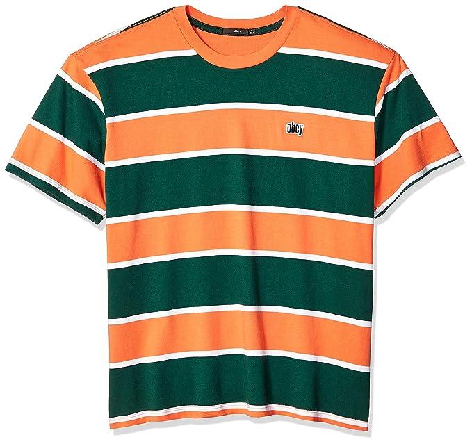 Amazon.com: Obey - Camiseta de punto para hombre, color ...