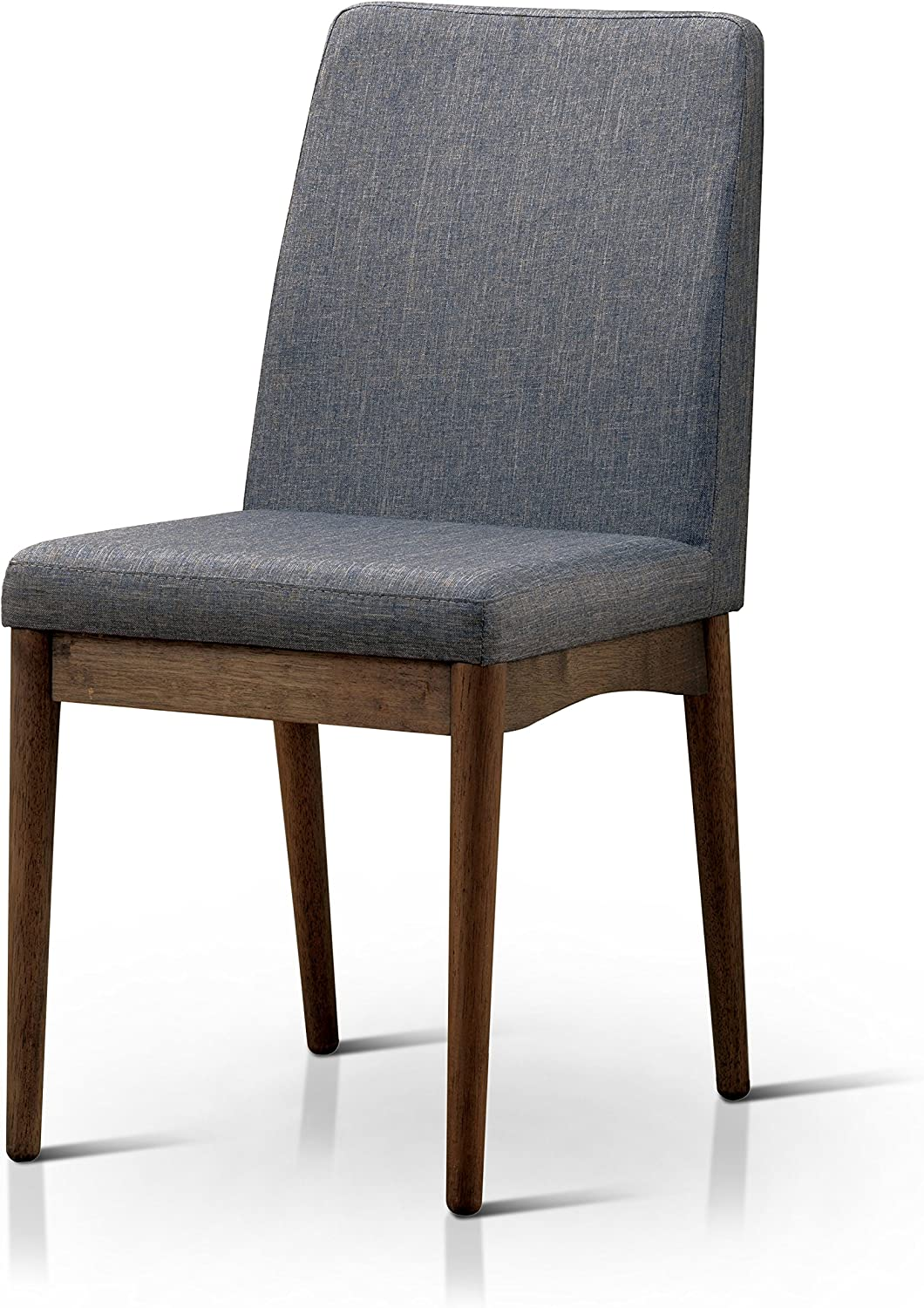 HOMES: Inside + Out Velasco Natural Tone Valesco Modern Side Chair (Set of 2)