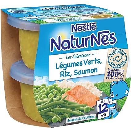0fbc2c2eeb7 Nestlé Bébé Naturnes les Sélections Légumes Verts
