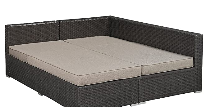 Amazon.com: Relajarse un tumbona arn-2pc-br-set Pacifica al ...