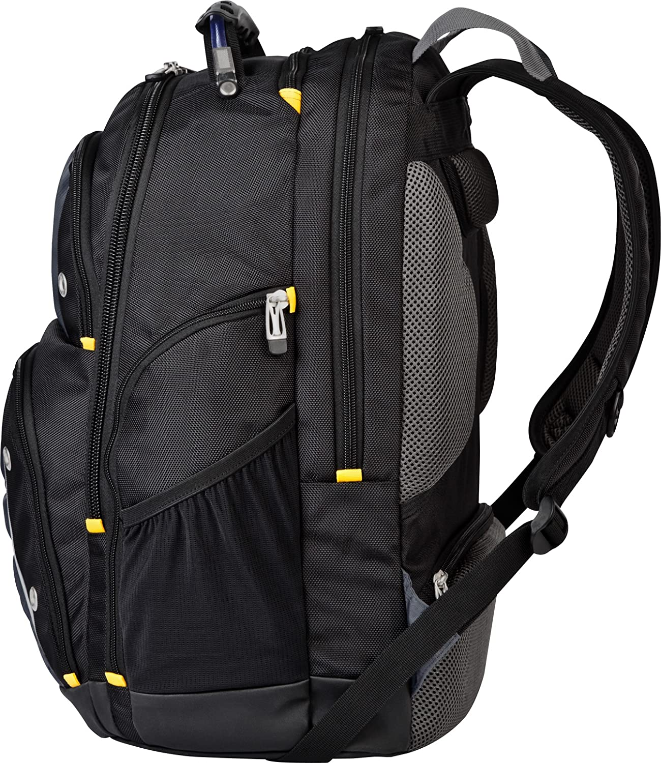Targus Drifter II Backpack for 17-Inch Laptop, Black/Gray ...