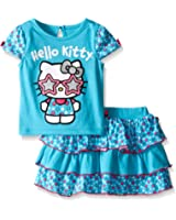 Hello Kitty Girls' T-Shirt and Skirt Set
