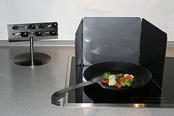 Fettschutz Küche spritzschutz küche länge 25 cm und höhe 23 cm drei faltbaren klappen