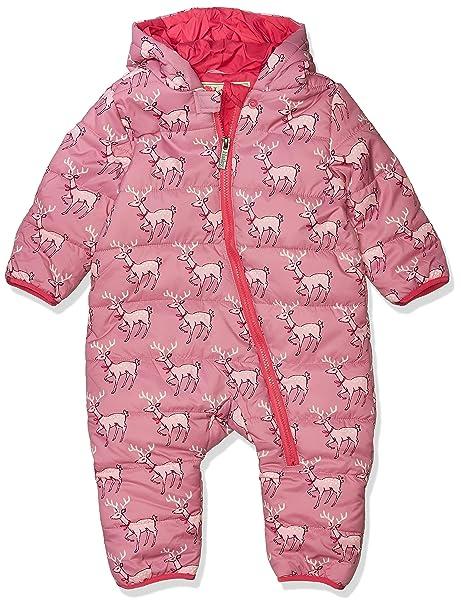 Hatley Baby Girls Fuzzy Fleece Bundlers Jacket