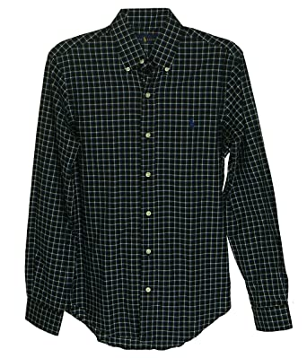 e17c5c272e362 Image Unavailable. Image not available for. Color  Polo Ralph Lauren Men s  Checked Twill Shirt ...