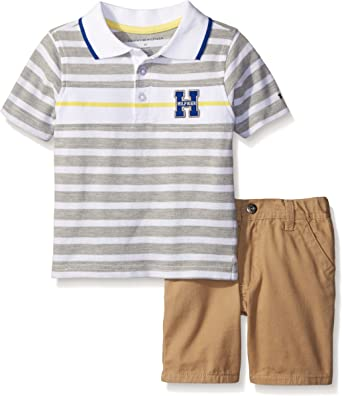 Tommy Hilfiger Boys Toddler 2 Pieces Polo Shorts Set