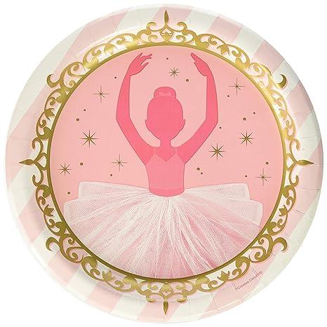 Creative Convertting Plato 23 cm Ballerina-Twinkle Acuario pecera,, 8 °C322224