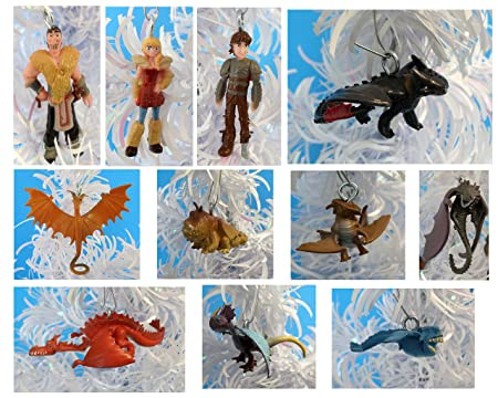 how to train your dragon 2 christmas ornaments featuring hiccup astrid toothless eret - How To Train Your Dragon Christmas