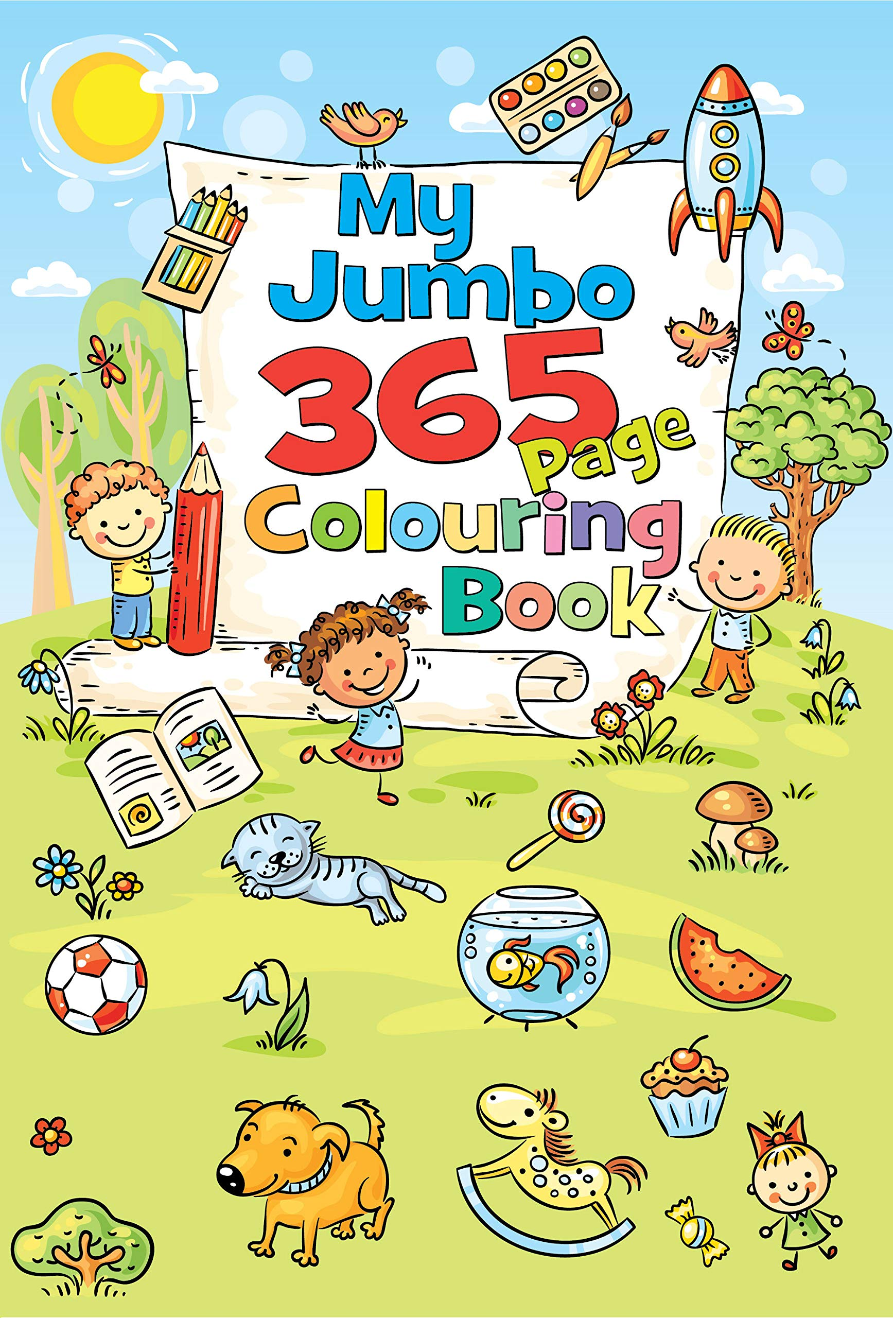 Buy My Jumbo 365 Page Colouring Book 1 365 Colouring Book Book Online At Low Prices In India My Jumbo 365 Page Colouring Book 1 365 Colouring Book Reviews Ratings Amazon In