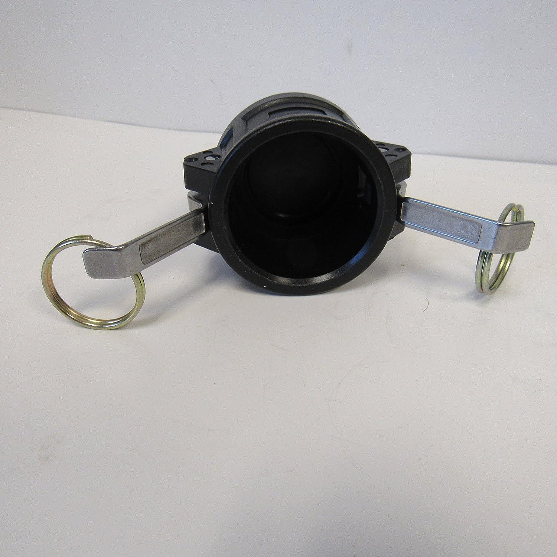 1-1//2 POLYPROPYLENE CAMLOCK CAP 150DC