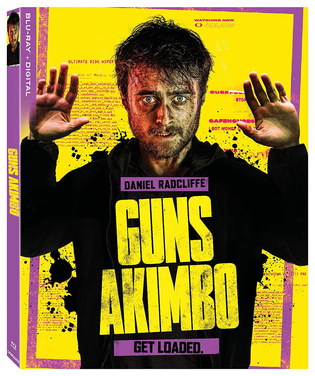Amazon.com: GUNS AKIMBO BD DGTL [Blu-ray]: Daniel Radcliffe, Samara  Weaving, Natasha Liu Bordizzo, Ned Dennehy, Grant Bowler, Edwin Wright,  Rhys Darby: Movies & TV