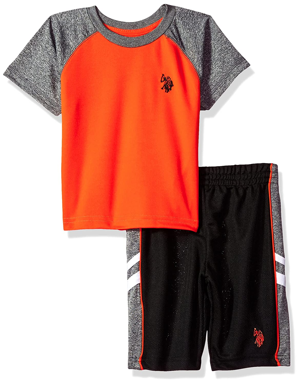 Boys T-Shirt and Mesh Short Set Polo Assn U.S
