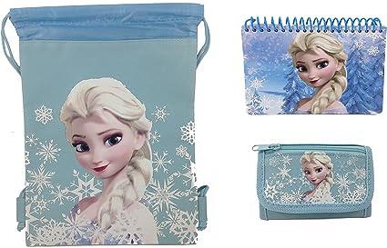 Disney Frozen Blue Wallet