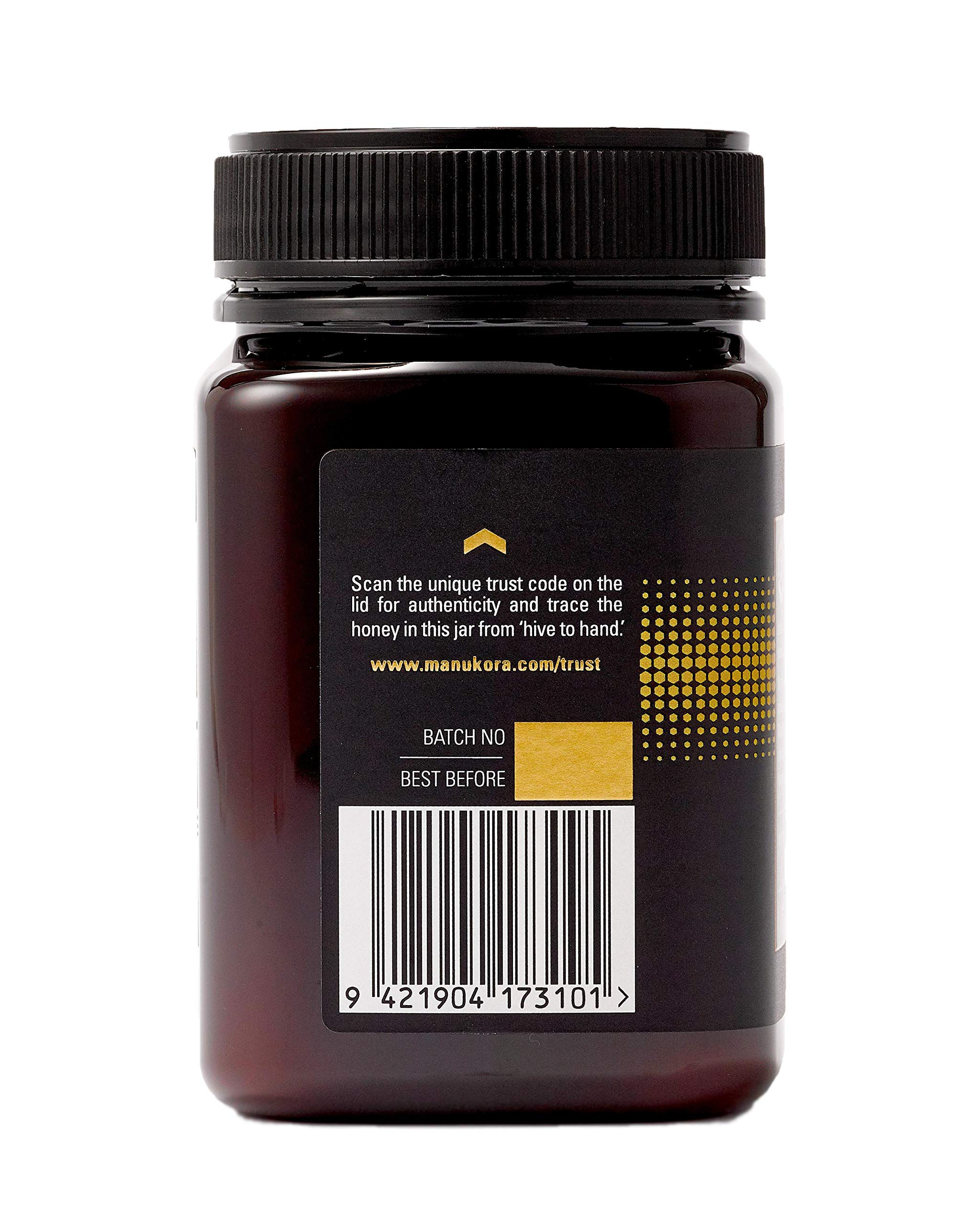 Manukora UMF 20+/MGO 830+ Raw Mānuka Honey (500g/1.1lb) Authentic Non-GMO New Zealand Honey, UMF & MGO Certified, Traceable from Hive to Hand by Manukora (Image #6)