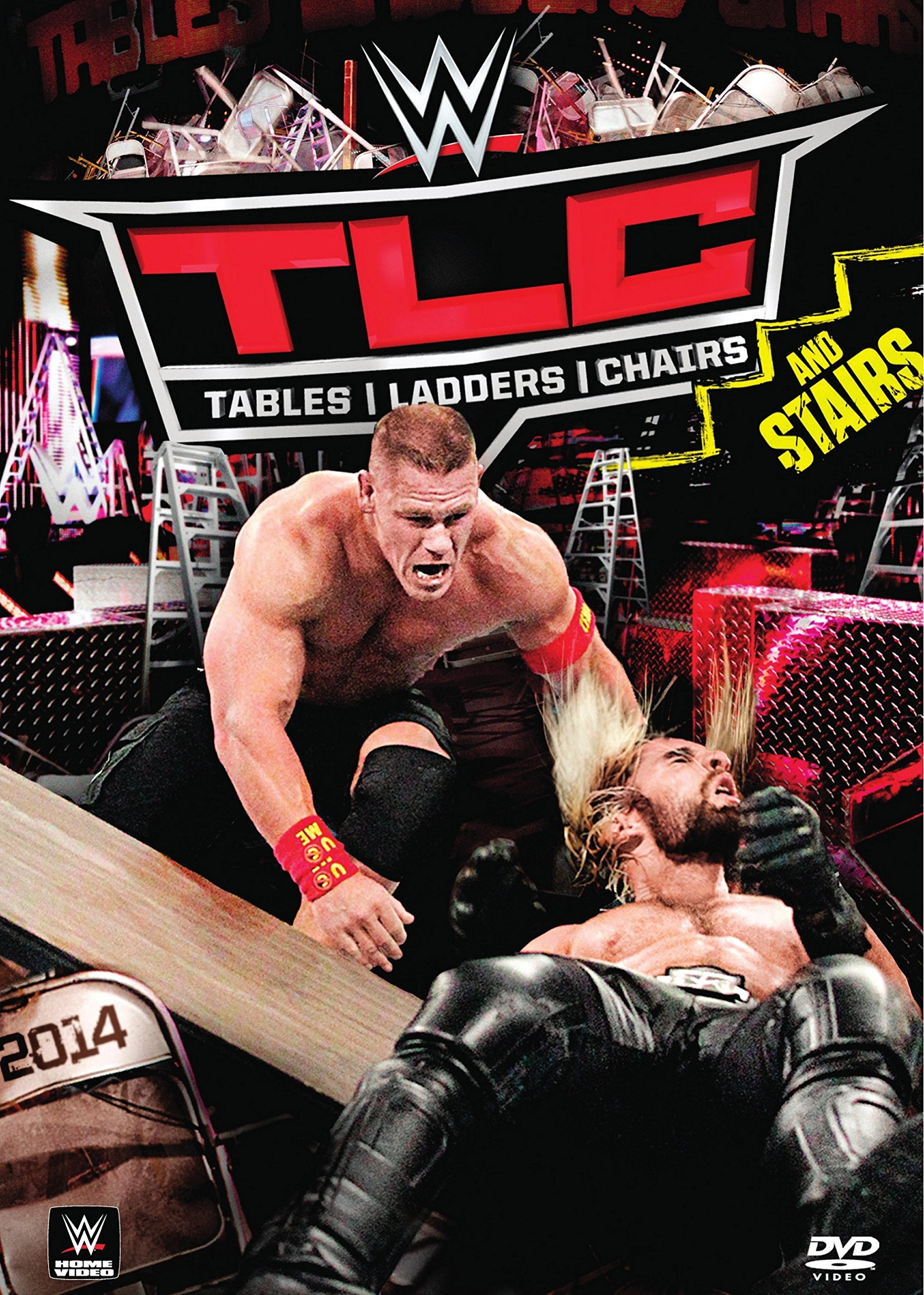WWE: TLC: Tables, Ladders & Chairs 2014 by WarnerBrothers