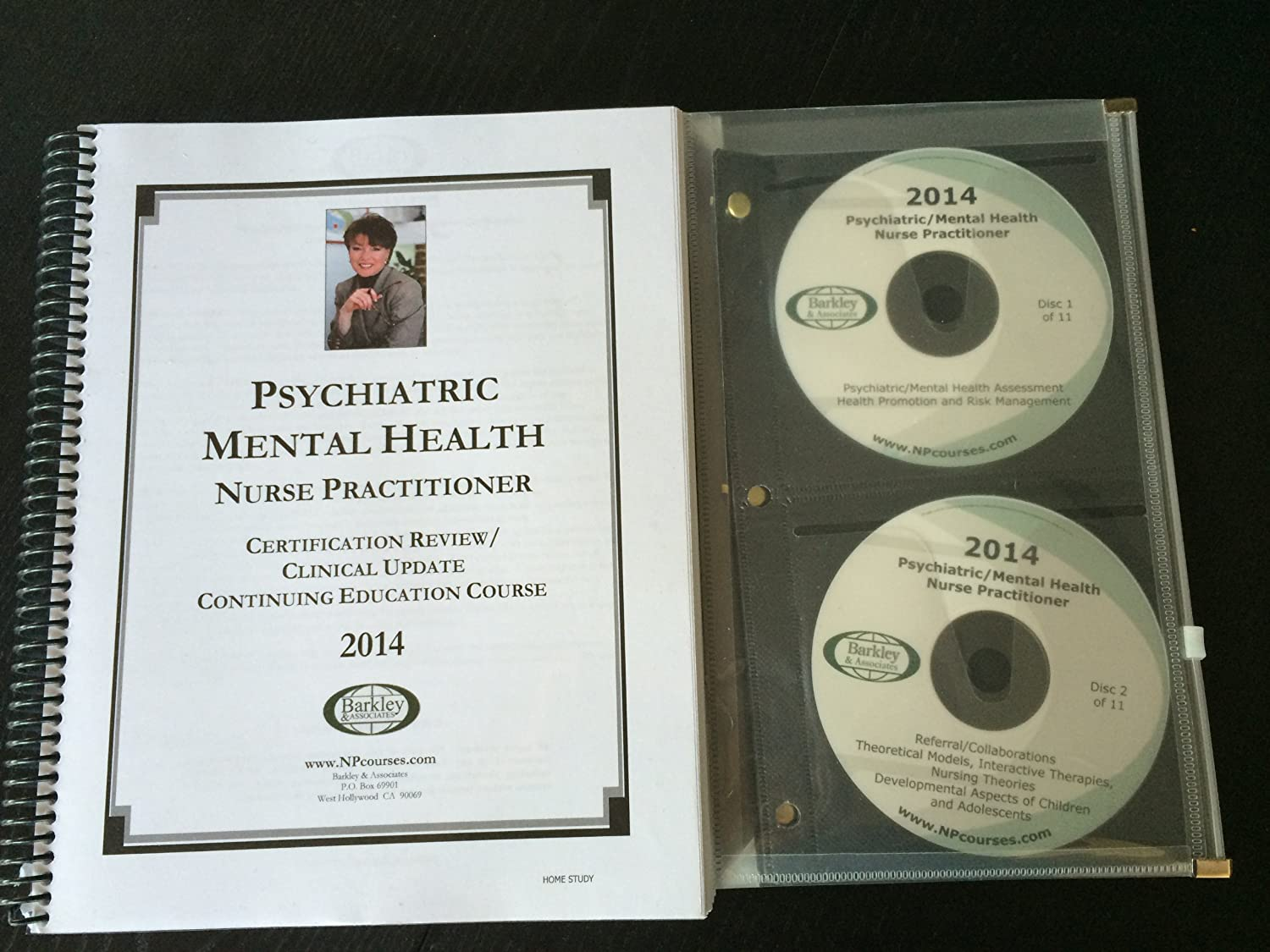 Amazon barkley associates psychiatric mental health nurse amazon barkley associates psychiatric mental health nurse practitioner certification review with 11 audio cds everything else xflitez Gallery