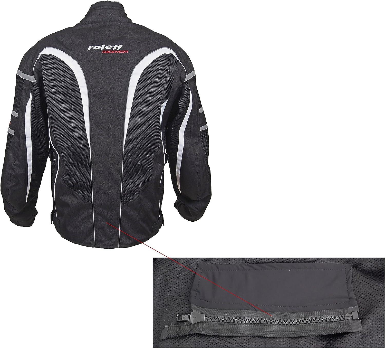 Roleff Racewear Kodra Ro 607 Veste de moto Noir Taille XXL
