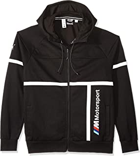 PUMA BMW M Motorsport Herren Kapuzen Sweatjacke Puma Black S