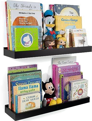 Wallniture Philly 23 Floating Shelves Kids Room Decor