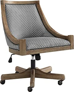 Linon Home Décor Office Chair, Gray Wash