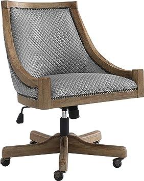 Amazon.com: Linon Home Décor Office Chair, Gray Wash: Furniture