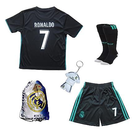 aae8024c9 Uniforme Real Madrid 2017 2018 de Cristiano Ronaldo