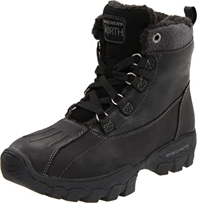 skechers mens winter boots