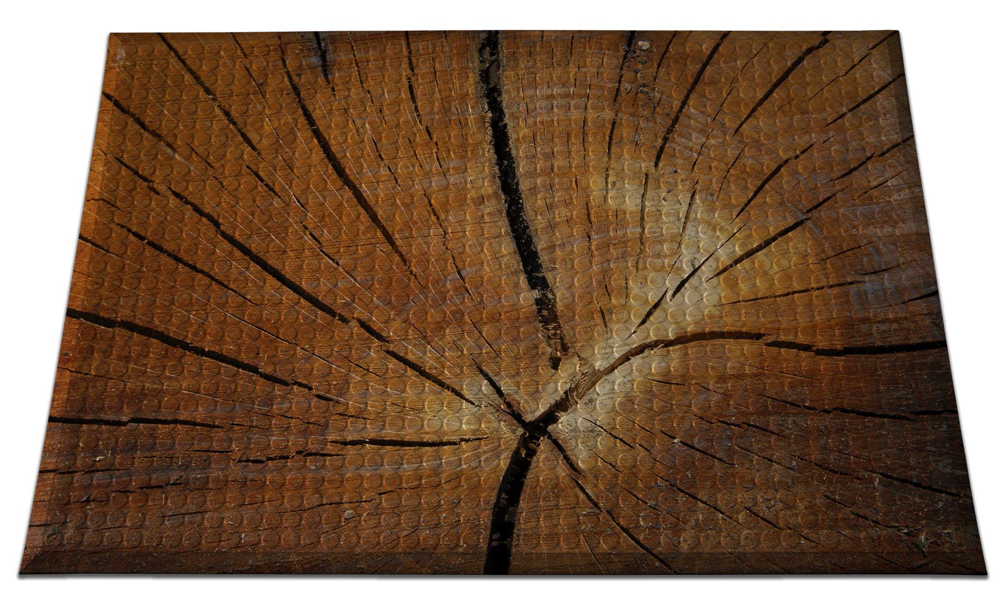 Ergomat INS-0203-07 Home Edition Anti-Fatigue Graphic Floor Mats, Tree Stump Smooth, 2' x 3' by Ergomat