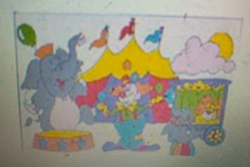 Paint By Number Traceable Wall Mural By Wall Art No. WA36104 Circus