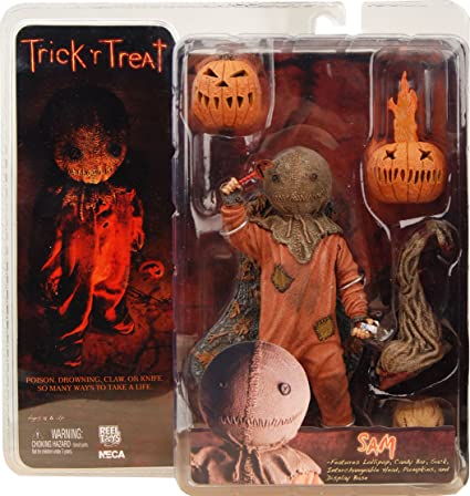 Trick /'r Treat Sam 8-Inch Scale Clothed Action Figure* BRAND NEW* FREE US SHIP*