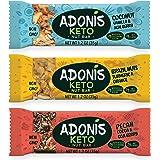 Adonis Low Sugar Barritas de Nuez con Poco Azúcar - Selección Mixta | 100% Natural, Baja en Carbohidratos, Sin Gluten…
