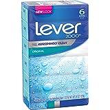Lever 2000 Bar Soap, Original, 4 oz, 6 Bar