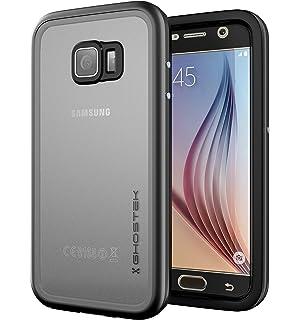 Ghostek Atomic Heavy Duty Waterproof Case Compatible with Samsung Galaxy S6  - Black 66c7e09d653f4