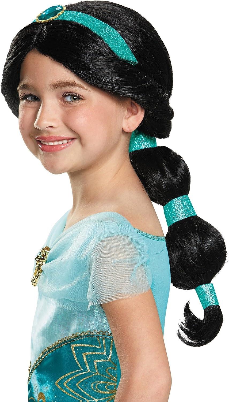 Amazon Com Disguise Child Jasmine Wig Standard Toys Games