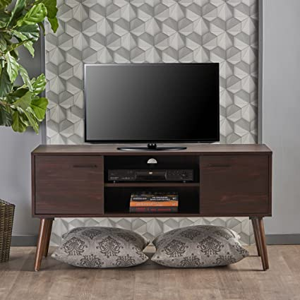 Amazoncom Amal Mid Century Modern Tv Stand Console Table