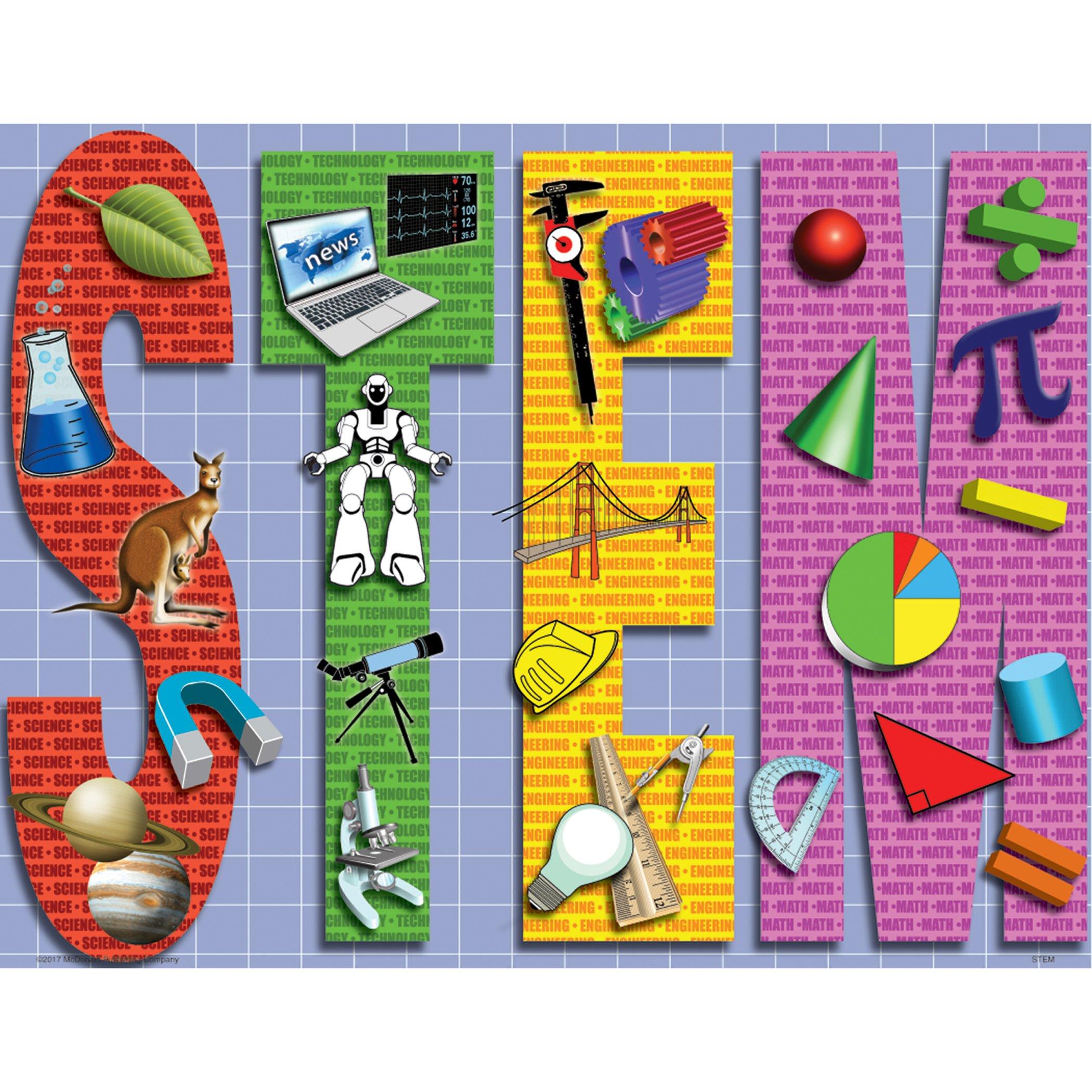 McDonald Publishing MC-P095 Stem Teaching Poster Set, Set of 4 by McDonald Publishing (Image #2)