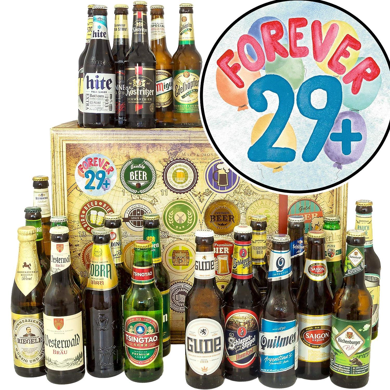 Forever 29    24 Biersorten der Welt     Geschenk zum 30. Geburtstag Cousine B07KFKVZKS | Düsseldorf Online Shop  68db7a