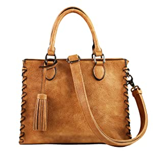YKK Locking Laced Ann Concealed Weapon Satchel by Lady Conceal