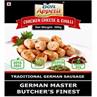 Bon Appetit Chicken Sausage with Cheese & Chillies, 300g