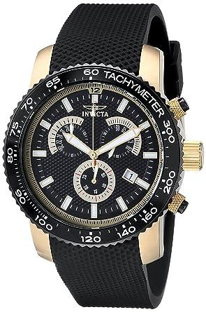 Invicta Men's 17774 Specialty Analog Display Swiss Quartz Black Watch