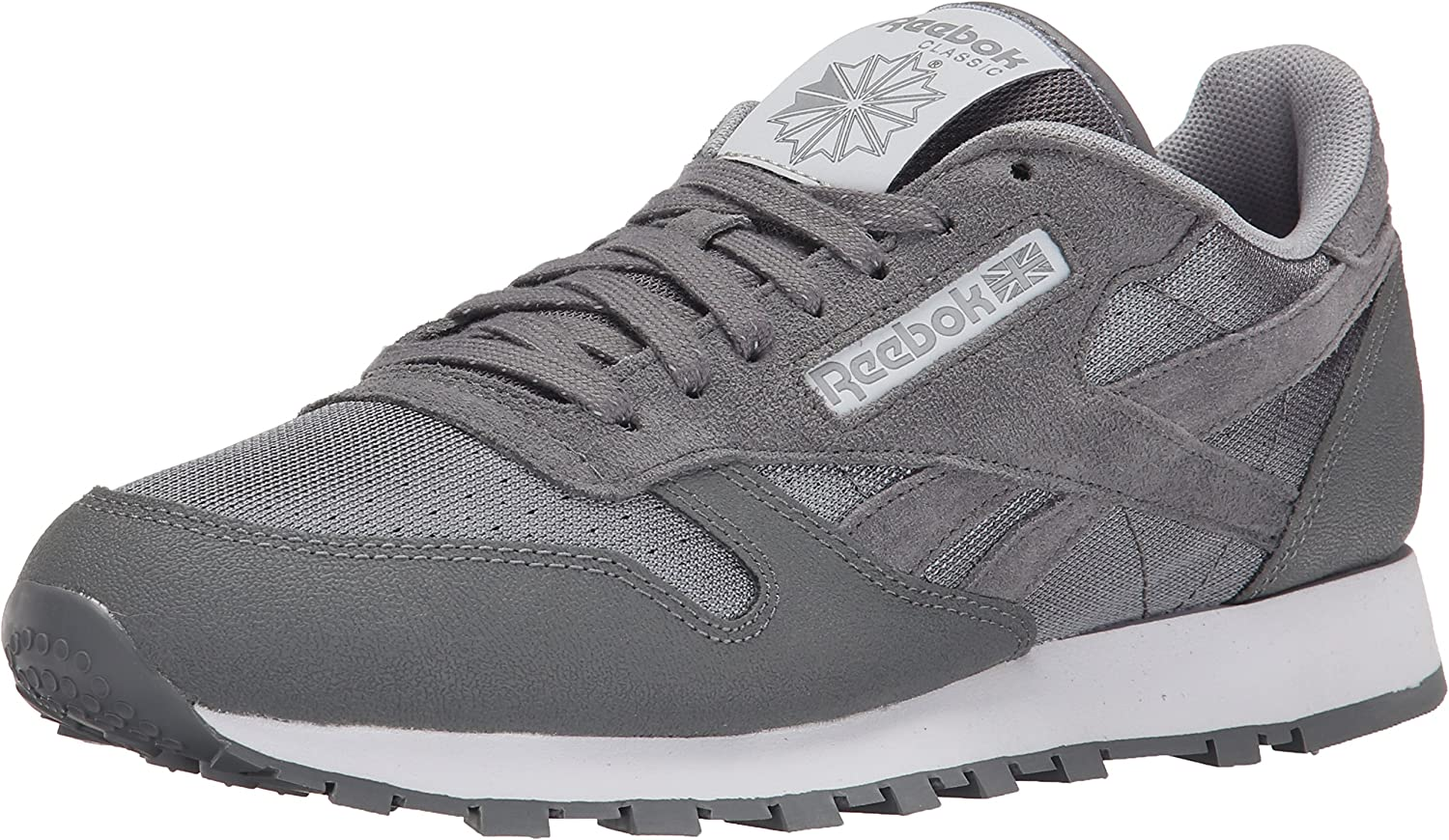 Reebok Men s Classic Leather Reflect Fashion Sneaker