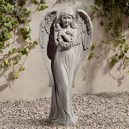 John Timberland Standing Angel Victorian Outdoor Statue 25″ High Sculpture