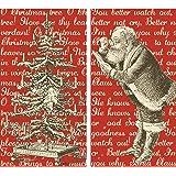 HomArt Large Decorative Christmas Carols Matches
