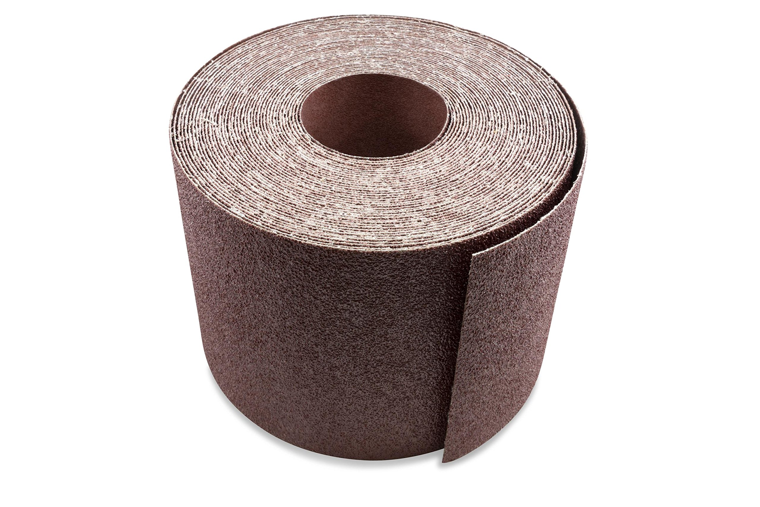6 Inch X 50 FT 60 Grit Woodworking Drum Sander Strip Roll, Cut to Length